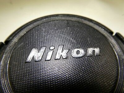 Nikon 52mm Front Lens Cap Snap On for Nikkor Ai Ai-s
