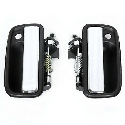 For Toyota Tacoma 95-04 Front Exterior Outer Door Handles Pair Chrome LH&RH 2001