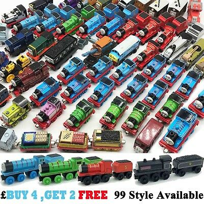 The Tank Engine Take-n-Play Engines & Carriages Magnetic Kids Toys Wooden Trains