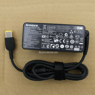 Genuine 45W Lenovo Thinkpad X1 X260 T460 T470 AC Adapter Charger Power 20V 2.25A