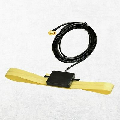DAB Windshield adhesive antenna with SBM connector Auto Digital Radio 3m cable