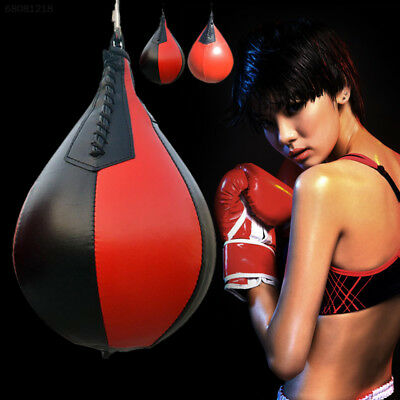Newest Speed Bag Boxing Pear Speedbag Taekwondo Muay Thai Training Equipment NEW