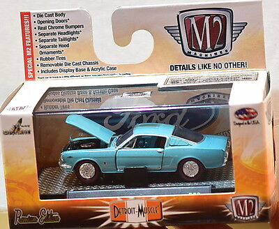 M2 Machines Detroit-Muscle 1965 Ford Mustang Gt 2+2 Fastback R32