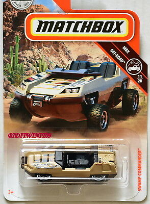 67-NUOVO IN SCATOLA ORIGINALE MATCHBOX 2019 /'16 Chevy Colorado Xtreme-MBX off-road