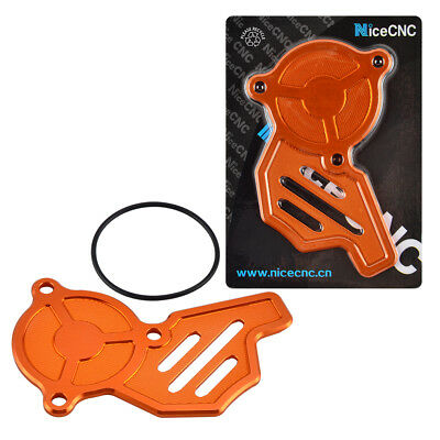 Anodized Orange CNC Oil Pump Cover For KTM 500 EXC-F 450 XCF SXF 2016 2017 2018
