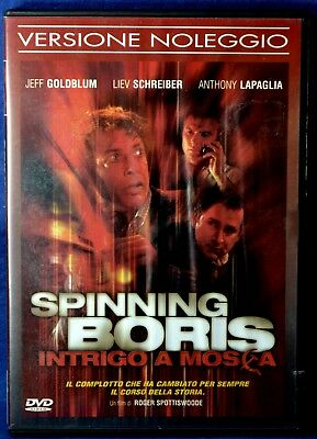 Spinning Boris Intrigo A Mosca - Dvd N.03985