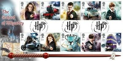 Harry Potter Bradbury First Day Cover BFDC Stamps
