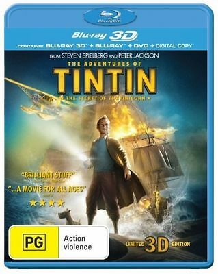 The Adventures of Tintin: The Secret Of The Unicorn (Blu-ray 3D + 2D)
