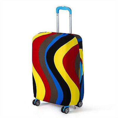"""26-28"""" Elastic Luggage Suitcase Cover Scratch Protective Bag Dustproof Protector"""
