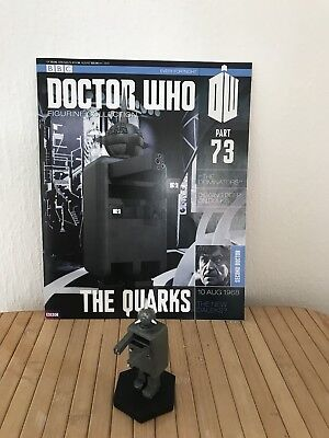 Doctor Who Eaglemoss Figurine Collection 73 The Dominators Quark,second Doctor