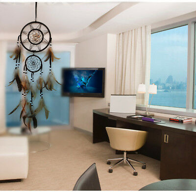 Stylish Dream Catcher With feathers Wall Hanging Decoration Decor Bead Ornament