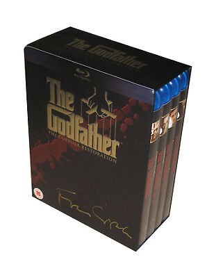 The Godfather trilogy complete 4 disc - The Coppola Restoration NEW BLU-RAY