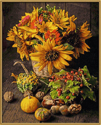 "NO MIXING NEEDED Paint By Numbers Schipper ""Autumn Colour Still Life"""