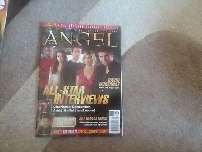 Angel Collector's Edition Magazine. New