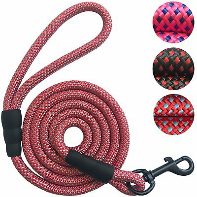 Heavy Duty Large Thick Walking Slip Rope Big Dog Nylon Lead Leash 5/6ft Training