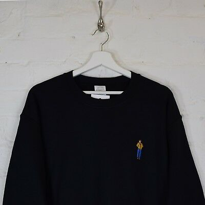 Taxi Driver Robert de Niro Embroidered Black Sweatshirt by Actual Fact