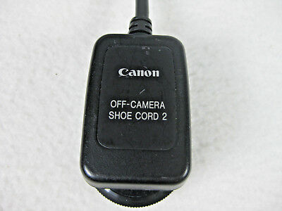 Genuine Canon Off-Camera Shoe Cord 2