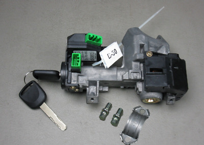 03 04 05 Honda Civic Oem Ignition Switch Cylinder Lock Manual Trans With 2 Keys