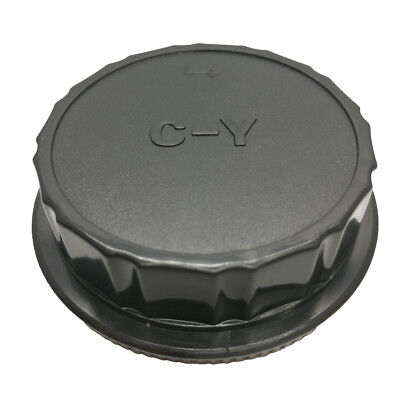 Camera Body Front +Rear Lens Cap Cover Kit For Contax Yashica C/Y CY Mount DSLR