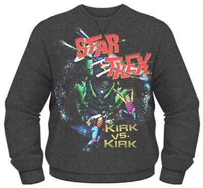 Star Trek - Kirk Vs Kirk - Official Mens Sweatshirt (Jumper)