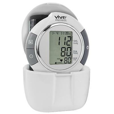 Automatic Digital Wrist Blood Pressure Monitor - Home Meter Device 1 Size Fits