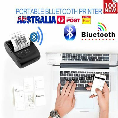 58mm Wireless Bluetooth USB Portable Thermal Line Printing Receipt Printer MB