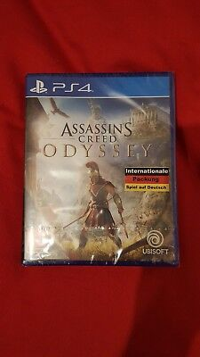 Assassins Creed Odyssey PS4 Spiel *NEU OVP* Assassin´s Creed Playstation 4