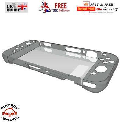 ANTI-SHOCK Transparent Clear Protective Hard Skin Case Cover for Nintendo Switch