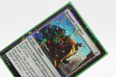 NITRO GREEN Prismatic Defender Holographic Trading Card Matte Sleeves 100ct
