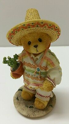 "Cherished Teddies 1996 Carlos From Mexico ""I Found An Amigo In You"" #202339"