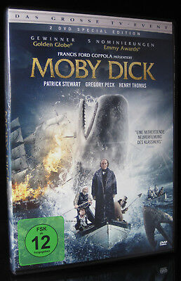 Dvd Moby Dick - Tv-Verfilmung - Special Edition - Patrick Stewart + Gregory Peck