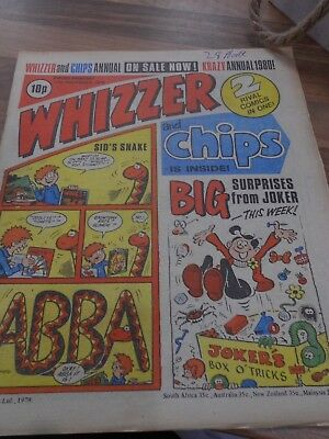 Whizzer & Chips COMIC 17th November  1979 ideal Birthday Present!