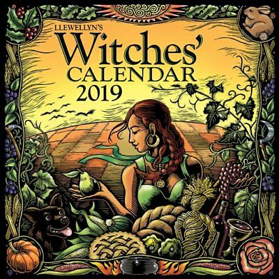 Llewellyn's Witches' Calendar 2019 (NEW & Sealed)
