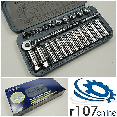 """Blue Point 24pc 3/8"""" Socket Set, Incl. VAT. As sold by Snap On."""