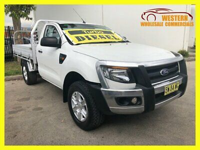 2013 Ford Ranger PX XL Hi-Rider Cab Chassis Single Cab 2dr Spts Auto 6sp, 4x2 A