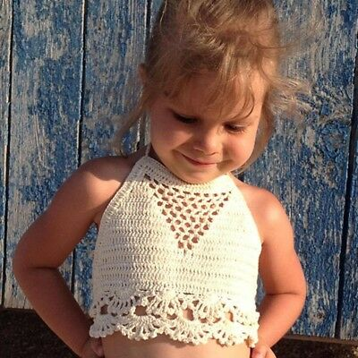 toddler Crochet top Baby girls festival top Crochet crop top Bohemia toddler top