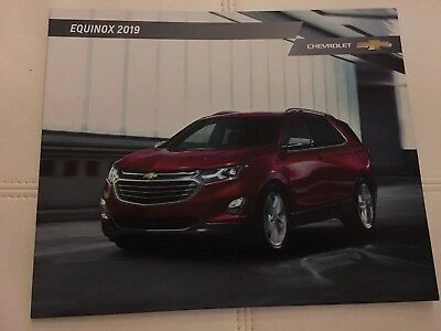 2019 CHEVY EQUINOX 40-page Original Sales Brochure