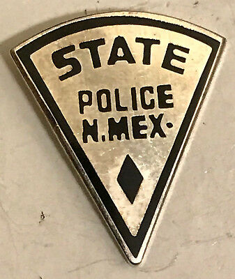 New Mexico NM State Police Trooper Police Sheriff Mini Badge Lapel Pin