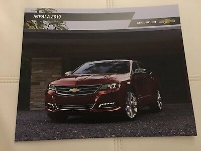 2019 CHEVY IMPALA 28-page Original Sales Brochure