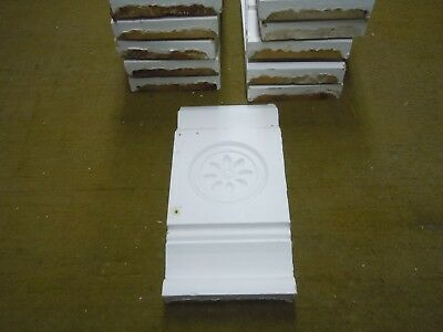 2- Victorian Plinth Block 5 5/8'' X 12'' By 1 3/8'' Thick  12 Available