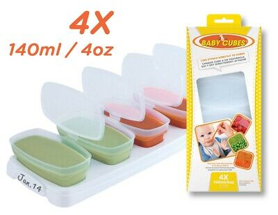Petite Creations Baby Cubes freezer food trays / Containers