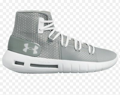 huge discount 544ce 71840 Under Armour Men s Hovr Havoc Basketball Shoes New Size 10.5 Steel White  3020617