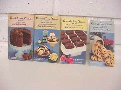 4, 1961 CHOCOLATE TOWN CLASSICS, Recipes Hershey's Baking Chocolate, Roses