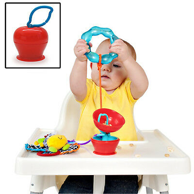 BOINGY CO. GRAPPLE APPLE - Surface Suction Holder Stops Toys Dropping On Floor!