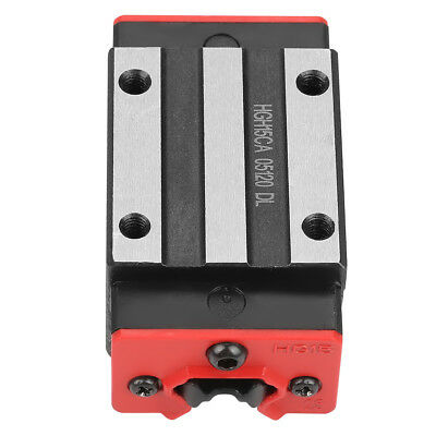 HGH15CA Mini Linear Motion Guide Rail Slider Bearing Steel Sliding Block pk