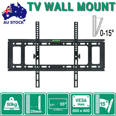 TV Bracket Wall Mount Slimline Tilting LCD LED 32 39 40 43 49 50 55 Inch Selb C