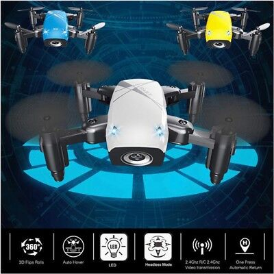 S9 Pocket Mini Foldable RC Drone 2.4GHz 6-Axis Gyro Quadcopter With HD Camera US