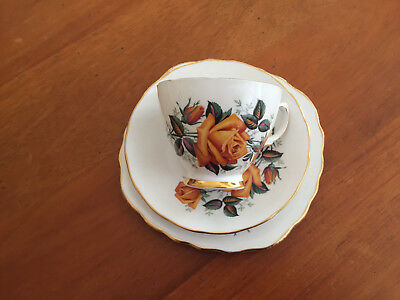 Tea cup, saucer and plate set  - Ridgway Potteries