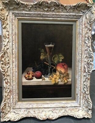 Painting, oil on canvas, signed and dated 1891 Robert Spear Dunning