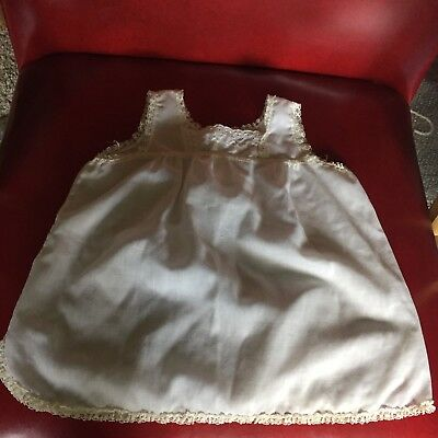 Vintage White Child Toddler Girls Slips Her Majesty Size 3T with Lace Trim